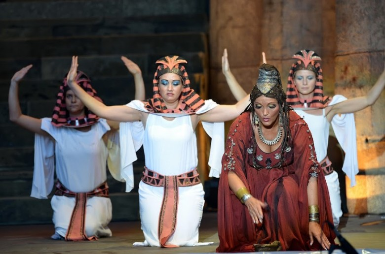 Aida at the Margaret Island Open Air Theatre: Pre-opening night photos by Bea Gergely.