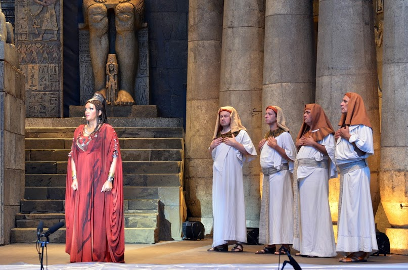 Pre-opening night photos of Aida, produced by the Hungarian State Opera. Photos by Bea Gergely.