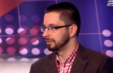 Gellért Rajcsányi, a blogger with the pro-Fidesz Mandiner site.