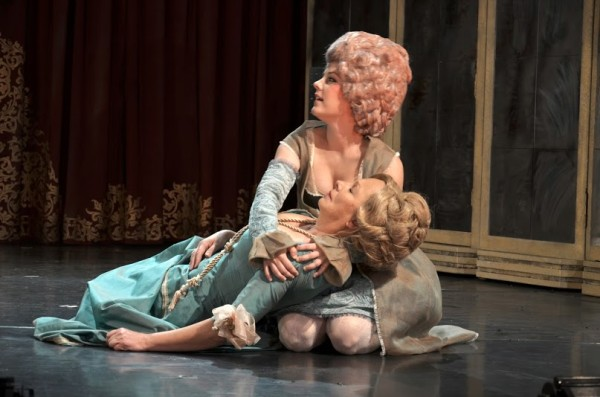 Orlai Produció's adaption of Amadeus. Photo: Bea Gergely.