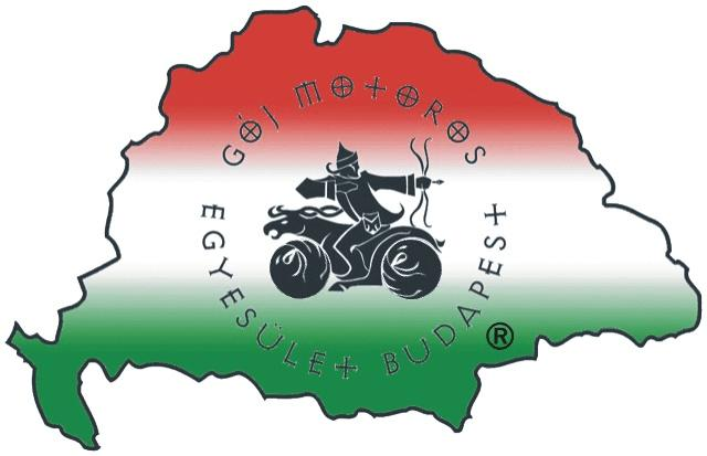 The official Goy Bikers logo.