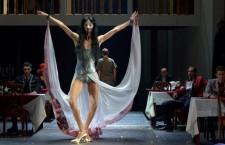 Operetta - a parody of operettas in Budapest's Nemzeti Színház.