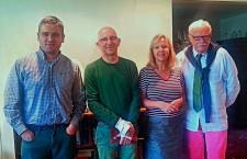 CHEF Board members: Christopher Adam, Kevin Burns, Catherine Bélanger, Mark Curfoot-Mollington.