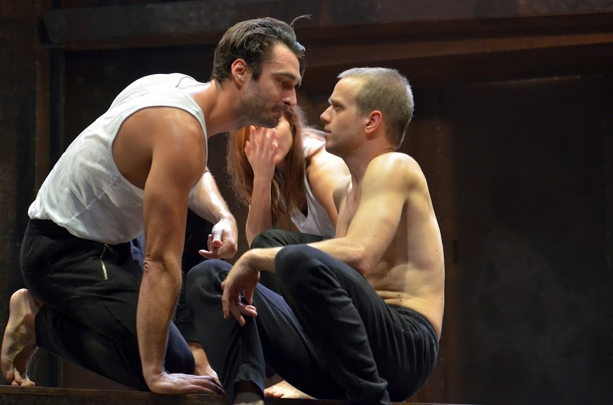 The 2014 production of Orestes at Budapest's Radnóti Theatre. Photo: Bea Gergely