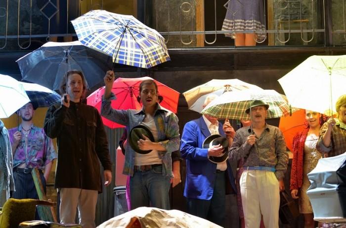 Cigánykerék/Cartwheel: a musical at Budapest's József Attila Színház. Photo: Bea Gergely.