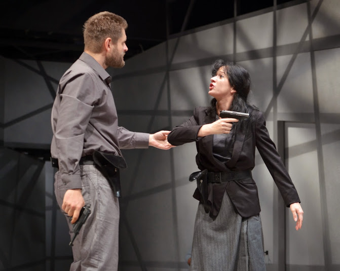 """Örkény Theatre: """"This Land Accepts You"""" (Photo: Beatrix Gergely)"""