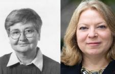 Éva Balogh and Kim Lane Scheppele