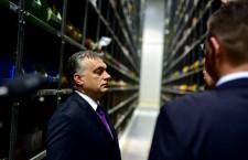 Mr. Orbán in Nádudvar, on November 26th, 2014. Photo: Facebook