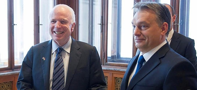 Mr. McCain and Mr. Orbán