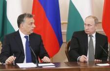 Mr. Orbán and Mr. Putin (Reuters)