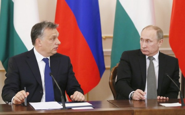 Mr. Orbán and Mr. Putin (Reuters)