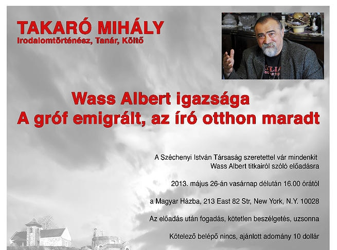 Mihály Takaró in NYC.