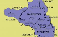 Map of Székely lands
