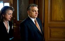 Viktor Orbán in Sopron, on March 25th, 2015. Photo: Facebook.