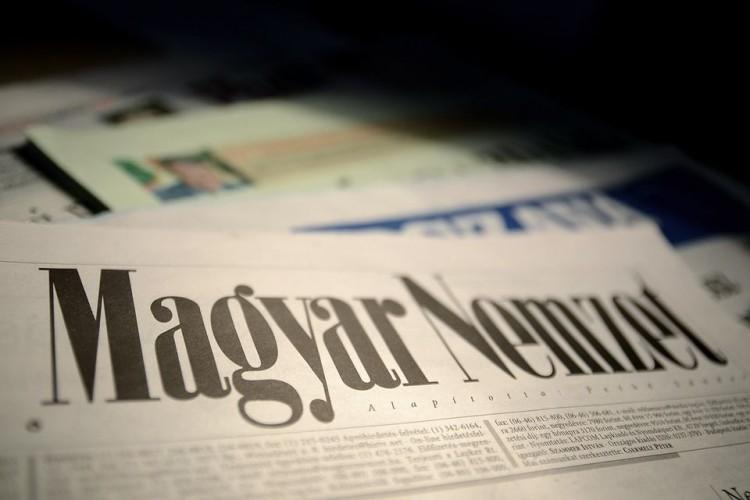 Magyar Nemzet. Photo: Hír24.
