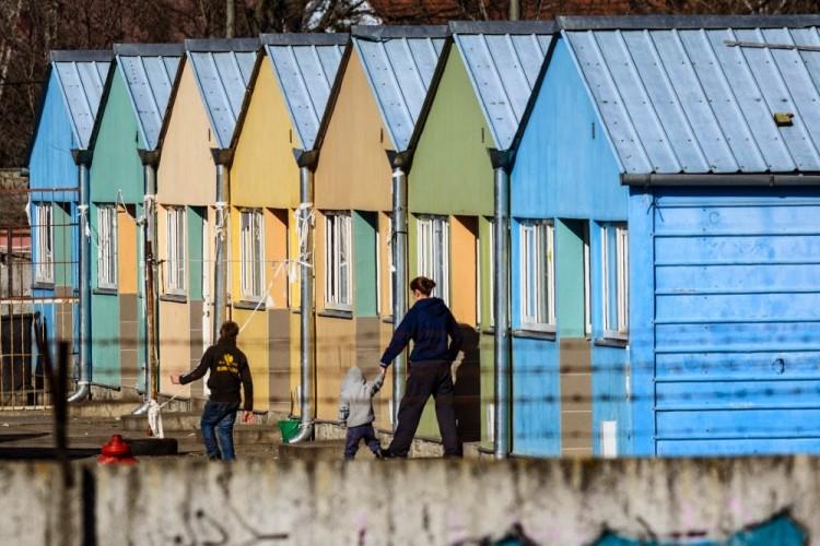 The Debrecen refugee camp. Photo: Zsolt Czeglédi/MTI.