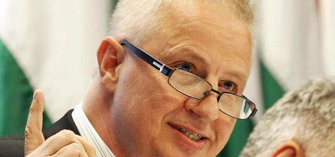 László Trócsányi, Hungary's openly racist Minister of Justice.