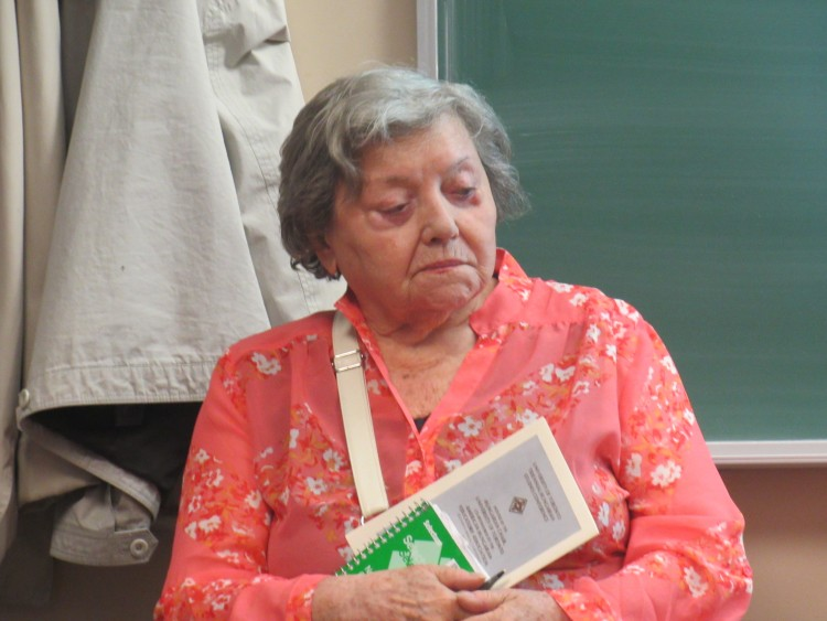 Ibi Gábori at the Hungarian Studies Association of Canada (HSAC) conference, held at the University of Ottawa on June 1st, 2015. Photo: Christopher Adam