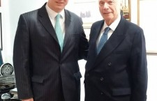 Mr. Ferenc Kumin and Rabbi Arthur Schneier.