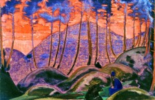 Language of the forest / Nicholas Roerich (1922).