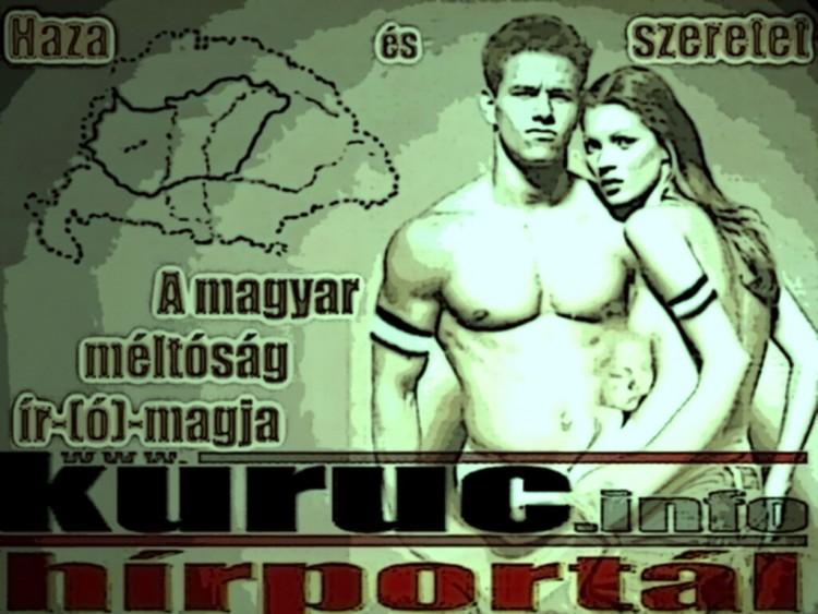 A rather edgy Kuruc.info propaganda poster.