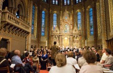 Oakland Symphony Chorus performs at Matthias Church.