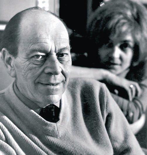 István Örkény in the late sixties, with his wife Zsuzsa Radnóti.