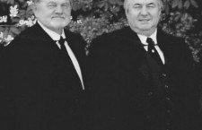 Rev Ludwig and Rev. Poznan in better times.