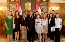 Birthright Hungary participants meets with Prime Minister Viktor Orbán and other Fidesz officials during their stay in Budapest. Photo: Birthright Hungary.