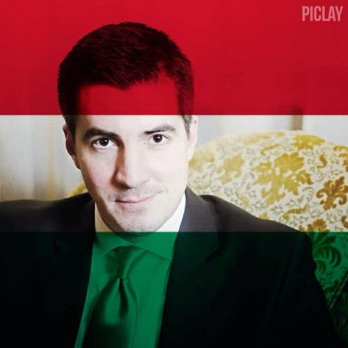 Mayor Máté Kocsis uses a Hungarian flag overlay on his Facebook image, following the U.S. Supreme Court's decision to legalize gay marriage.