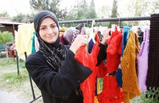 Knitting a brighter future for Syrian refugees in Lebanon. Photo: UK Department for International Development.