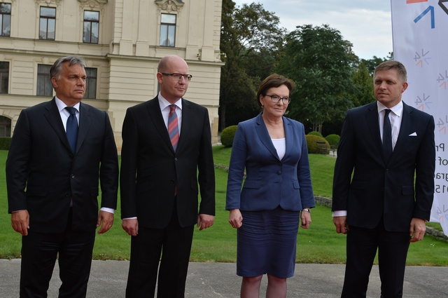 V4 Prime Ministers in Prague - Did they have an agreement?