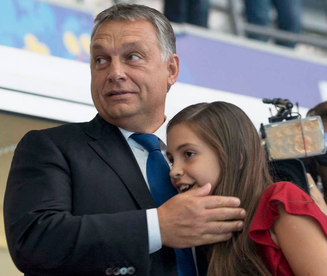 Image result for viktor orban with children