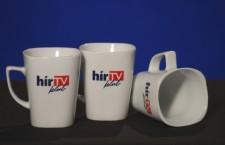 HírTV mugs. Half empty, or half full?