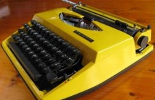 Adler Tippa typewriter from the seventies...
