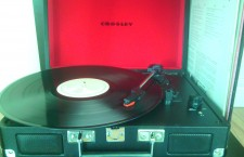 My new Crosley Cruiser record player...