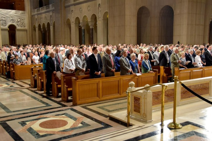 Hungarian Chapel dedication – this is what the Hungarian viewers saw….