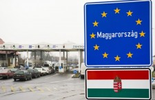 The Záhony border crossing between Hungary and Ukraine. This represents one of the EU's external borders, which Hungarian border security patrols and protects and where you will come into contact with Hungarian border guards and customs officials. Photo: MTI.
