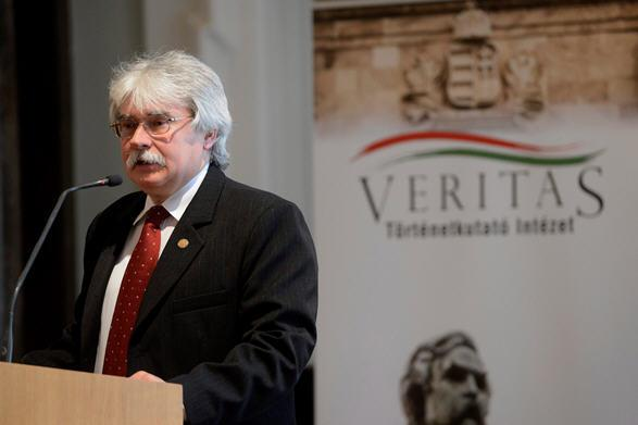 Sándor Szakály, the director of the Orbán government's Veritas Institute.