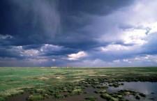 Storm over the Hortobágy National Park. Photo: Hungary Guide.