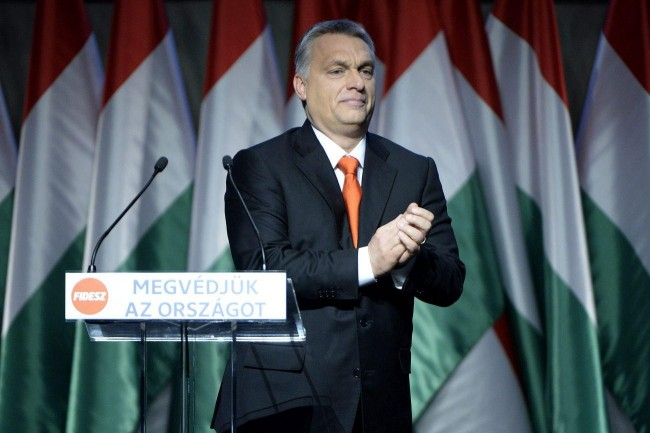 Viktor Orbán on December 13th, 2015. Photo: MTI.