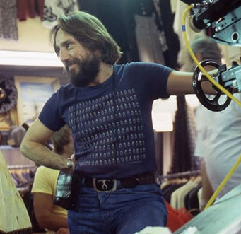 Vilmos Zsigmond behind the camera in the 1970s.