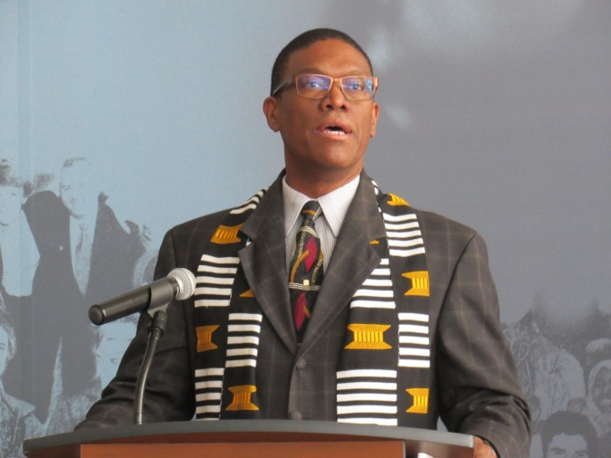 Rev. Anthony Bailey. Photo: C. Adam.