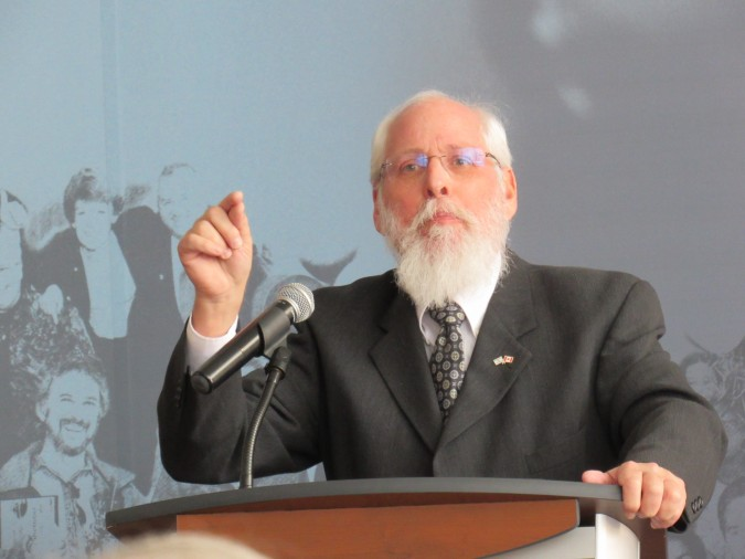 Rabbi Barry Schlesinger. Photo: C. Adam