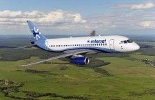 Vladimir Putin offers the Superjet 100 to Hungary.  (Photo from Interjet Airlines of Mexico)