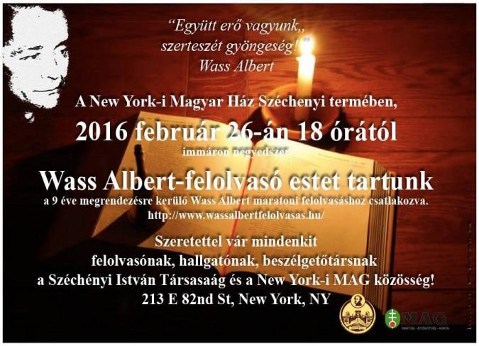 The New York Hungarian House once again celebrates World War II war criminal Albert Wass.