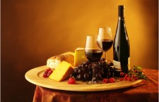 A wine & cheese reception put on by the Hungarian Forum of Ottawa