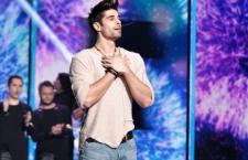 Gábor Alfréd Fehérvári (Freddie) will represent Hungary at the Eurovision festival in Stockholm. Photo: Duna TV.