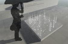 Original 1956 monument plan with LED lights.