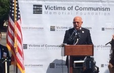 Martonyi speaks about the suffering Communism caused to innocent people in 2015 in Washington DC.